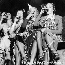 New Year's Eve Party Gals - Vintage Photo Print