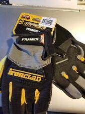 Ironclad Framer Carpentry General Work Gloves Large Fug 04 L