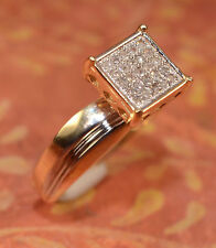 Her Diamond And14k Gold Engagement Ring