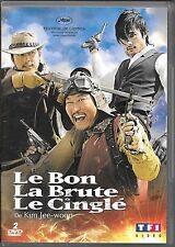 2 DVD ZONE 2--LE BON LA BRUTE LE CINGLE--KIM JEE WOON