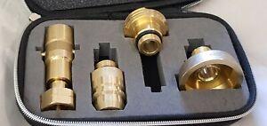 LPG Tankadapter-Set  (W21.8L) ACME DISH BAJONETT EURONOZZLE DREHMEISTER DHL DE