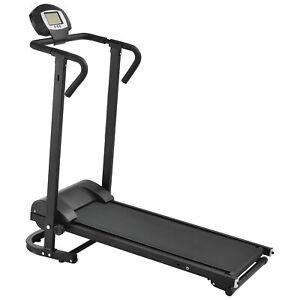 [in.tec] Tapis roulant meccanico con LCD-Display pieghevole fitness