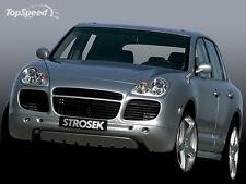 Porsche Cayenne Turbo Strosek style front bumper spoiler + tail lights