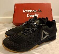 a05a9d331846 New Authentic Reebok Nano 6 6.0 Cross Fit Shoes Black   Gum Size 12.5