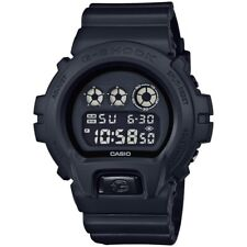 -NEW- Casio G-Shock Black Military Watch DW6900BB-1
