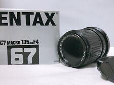 🟢Unused in Box🟢SMC Pentax 67 Macro 135mm F/4 For 6x7 67 67II from JAPAN 236