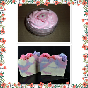Wholesale Strawberry Soap and Whipped Soap Package