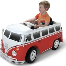 6V VW Volkswagen Bus Battery Powered Ride On Kids Car Toy Wheels Power Electric