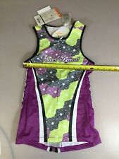 Pearl Izumi Elite Womens Tri Triathlon Top Small S (6910-54)