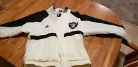 Vintage 90's Apex One NFL Oakland/LA Raiders Windbreaker Jacket small
