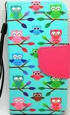 Owls Magnetic Leather Wallet Case for Apple iPod Touch 6 6G 6th Generation Gen