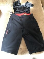 Performance Bandit Cycling Shorts Removable Padded Liner Men's Medium Black