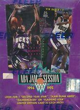 Basketball NBA Jam Sess FLEER 93 94 95 96 Box Trading Card Boxes