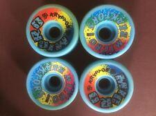 NOS Old School Original Kryptonics Micro Reaktors Skateboard Wheels 57mm 95a Set