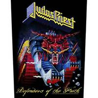 "JUDAS PRIEST -""DEFENDERS OF THE FAITH"" - LARGE SIZE - SEW ON BACK PATCH"