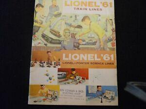 Lionel 1961 Consumer Train Catalog