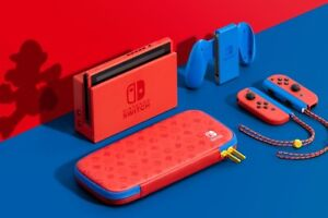 Nintendo Switch HAC-001(-01) Mario Red & Blue Edition - 32GB