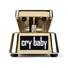 Dunlop GCB95G 50th Anniversary Gold Cry Baby Wah 2017