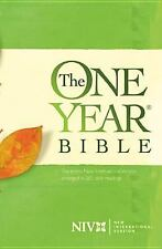 The One Year Bible NIV by Tyndale House Publishers Staff