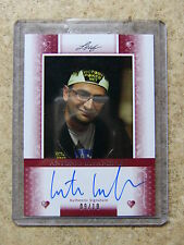 2011 Leaf Razor Poker ANTONIO ESFANDIARI Heart Red version /10
