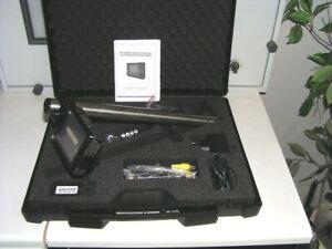 Endoskop Endoskopie Inspektionskamera m. Monitor , Netz-Ladeteil, Fernbedienung