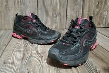 Saucony Excursion TR6 Womens Size 7 Black/Pink Athletic Running Shoes 15107-4