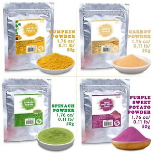 50g/lot Pure Organic Dried Vegetable Powder for Baking Drink Herb Health Food