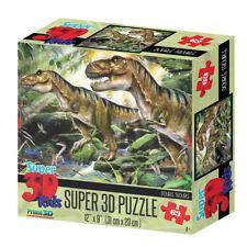 Boxed Howard Robinson Super 3d Double Trouble Dinosaur Jigsaw Puzzle 63pcs