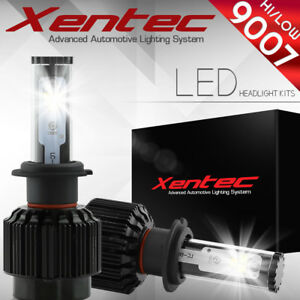 XENTEC LED HID Headlight kit 488W 48800LM 9007 HB5 6000K 2007-2014 Suzuki SX4