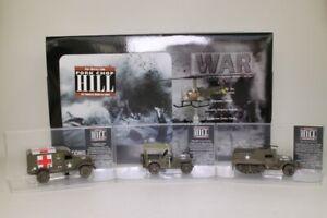 Corgi; Pork Chop Hill 4 Pce Set; Sioux, Jeep, Ambulance, M3; Excellent Boxed