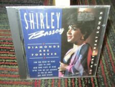 SHIRLEY BASSEY: DIAMONDS ARE FOREVER MUSIC CD, 20 GREAT TRACKS, PORTUGAL, GUC