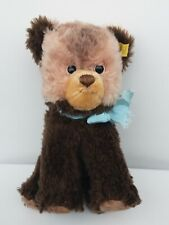 Steiff Tapsy Bear Cub Standing all 4s Dralon & Mohair Plush 6425/25 ID 8in 1970s