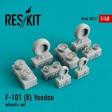 ResKit RS48-0072 F-101 (B) Voodoo resin wheels Kit 1/48 Scale