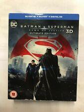 Batman Vs Superman - Dawn of Justice Ultimate edition (3D, Blu-Ray) VG, M2