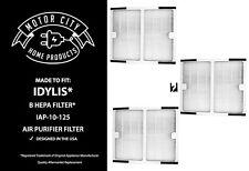 3 Hepa Air Purifier B Filters For Idylis Iap-10-125 & Iap-10-150