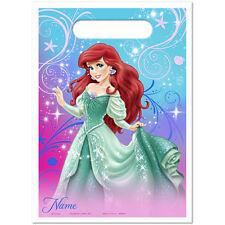 Little Mermaid Sparkle Ariel Birthday Party Supplies Treat Bags