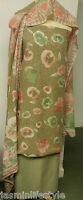 Cotone A Fantasia Unstiched Indiano Pakistano Shalwar Kameez Materiale tessuto