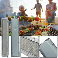 Universal BBQ Grill Ceramic Stainless Steel Heater Infrared Burner Barbecue Gas