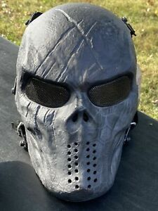 Airsoft Paintball Tactical Full Face Protection Skull