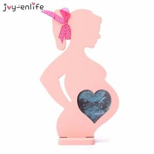 1pcs Wooden frames for pregnant women Decoration Home moon full sets swing baby