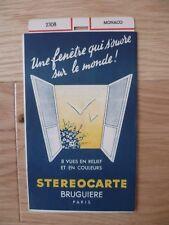 MONACO STEROCARTE BRUGUIERE N° 2308