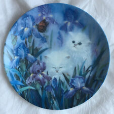 "Hamilton Collection ""Garden Discovery� Plate By Lily Chang"