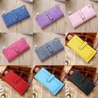 Womens Ladies Leather Clutch Wallet Long Phone Card Holder Case Purse Handbag US