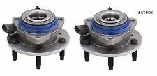 Front Wheel Hub Bearing Assembly Fit PONTIAC Aztek (ABS) 2001-2005 PAIR
