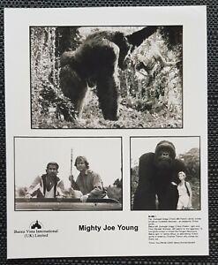 MIGHTY JOE YOUNG (1998) GENUINE UK CINEMA (ODEON) 8X10'' LOBBY CARDS (B/W)