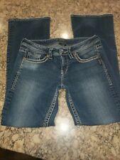 Silver Jeans, Lola, 28 X 32, blue Denim jeans - super cute!!