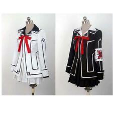 Halloween Vampire Knight Cosplay Costume Yuki Kuran Black White Uniform