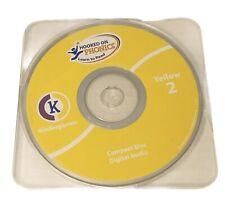 Hooked On Phonics Kindergarten Replacement Audio Cd Yellow 2 Euc
