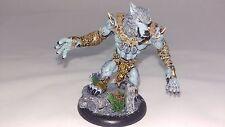 PREPAINTED - Hordes Circle of Orboros Models - Feral Warpwolf