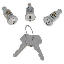 Lock barrel & key set (door, ignition boot) to fit Mini Mk1-2 & Morris Minor 4 d
